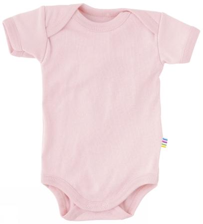 Lys rosa kortærmet body